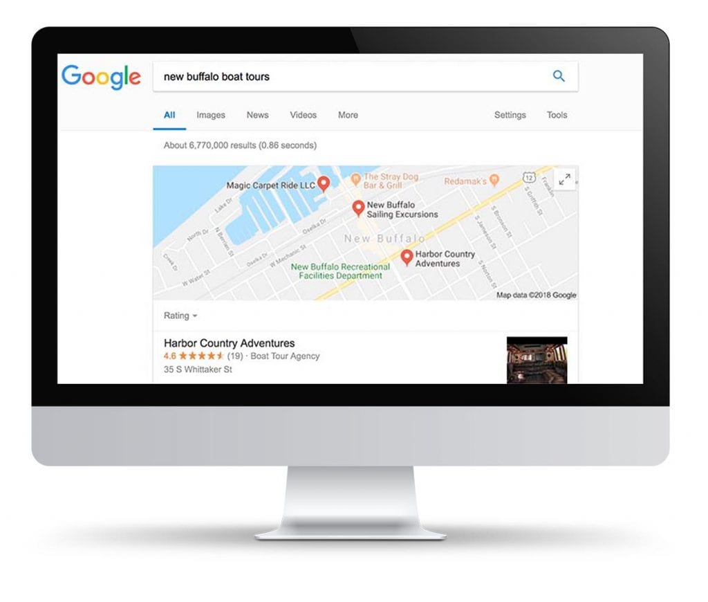SEO for Tour and Charter Operators