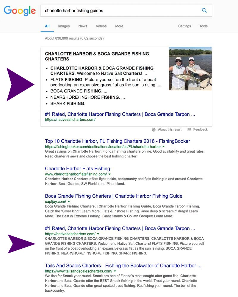 Featured Snippet Placement